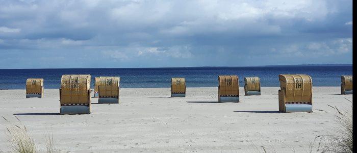 Strandkörbe Grömitz Strand Sonne