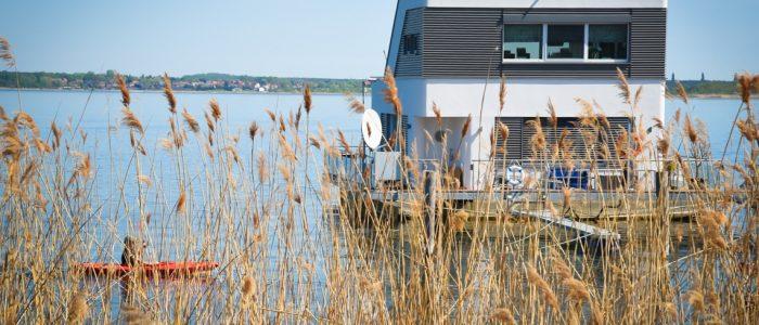 Hausboot Sachsen Anhalt Großer Goitzesee mieten Ferien Urlaub