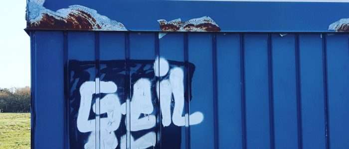 Geiler Urlaub Römo Dänemark Insel Graffitti