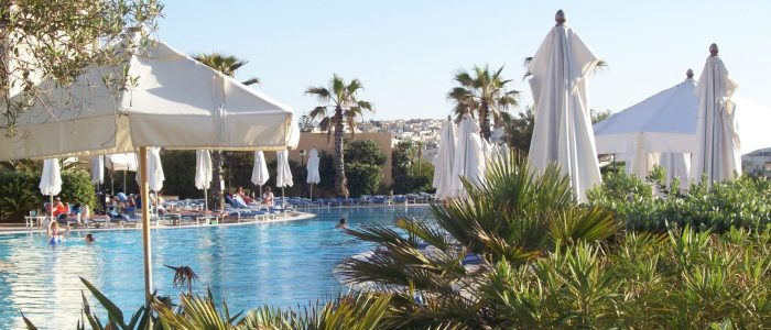 Malta Interconti Intercontinental St. Julians Pool Hotelpool
